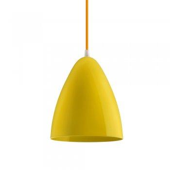 Pendente Bol Peq. 22x18 Amarelo